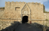 Крепостные стены старого г. Родос