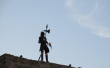 Рыцарь на крепости